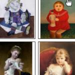 Enfants jouant à la poupée – cycles 2 et 3.