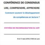 Conférence de consensus : lire, comprendre, apprendre